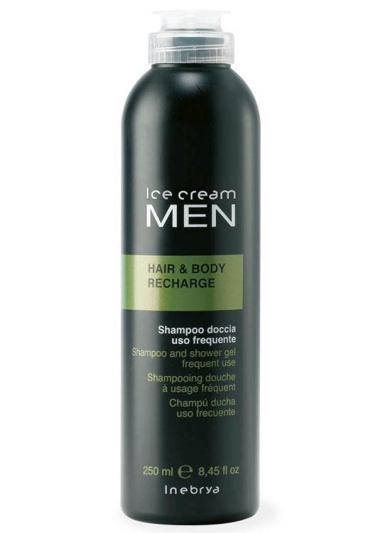 Šampon a sprchový gel 2v1 Inebrya Hair a Body Recharge - 250 ml (776549)