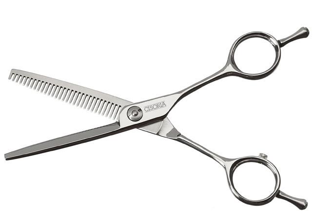 """Efilační nůžky Sibel Cisoria Class S-T30 5,5"""" stříbrné, 30 zubů (7098355) + DÁREK ZDARMA"""