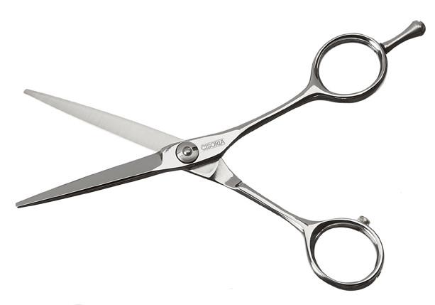 "Kadeřnické nůžky Sibel Cisoria Class S55 5,5"" stříbrné (7098055) + DÁREK ZDARMA"