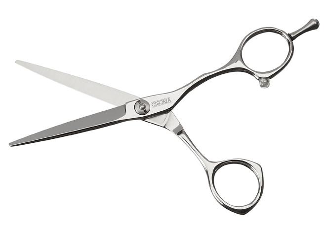 "Kadeřnické nůžky Sibel Cisoria Class SO50 5"" stříbrné (7098150) + DÁREK ZDARMA"
