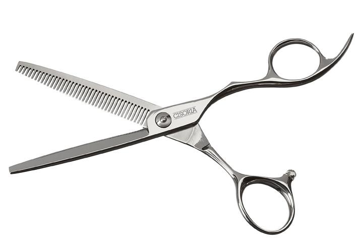 """Efilační nůžky Sibel Cisoria Class O-T40 6"""" stříbrné, 40 zubů (7098460) + DÁREK ZDARMA"""