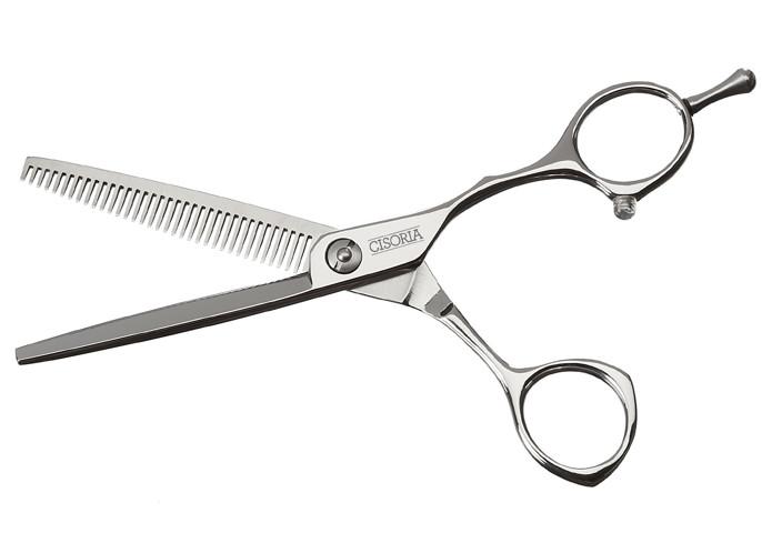 """Efilační nůžky Sibel Cisoria Class SO-T35 5,75"""" stříbrné, 35 zubů (7098575) + DÁREK ZDARMA"""