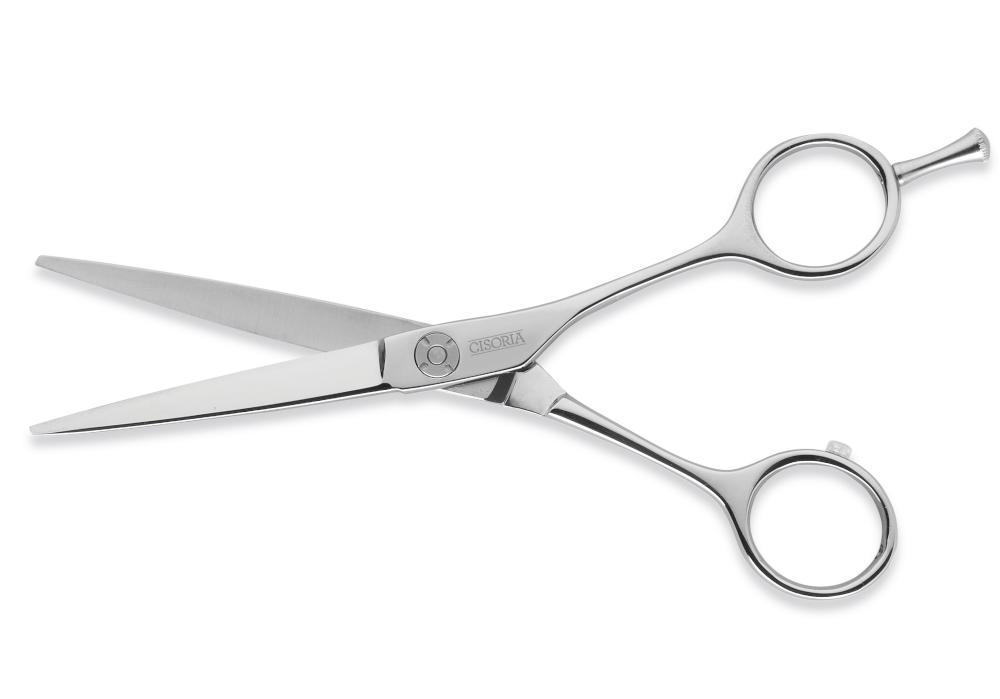 """Kadeřnické nůžky Sibel Cisoria Luxury SOE550 5,5"""" - stříbrné (7097355) + DÁREK ZDARMA"""