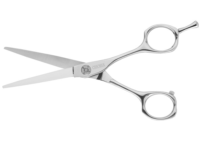 "Kadeřnické nůžky Sibel Cisoria Luxury S500 5"" - stříbrné (7097450) + DÁREK ZDARMA"