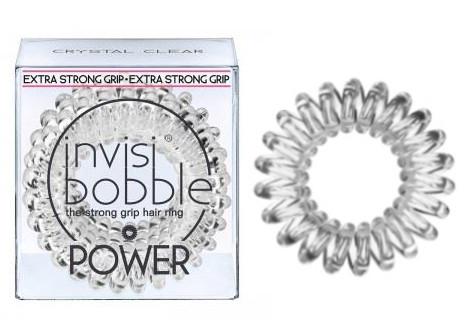 Spirálová gumička do vlasů Invisibobble Power Clear - průhledná (203883) + DÁREK ZDARMA
