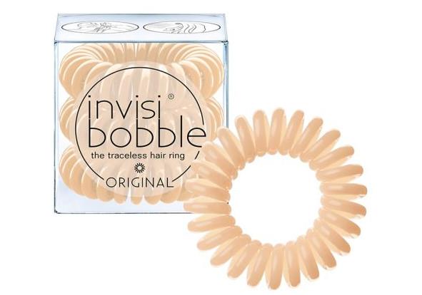Spirálová gumička do vlasů Invisibobble Nude - béžová (203877)