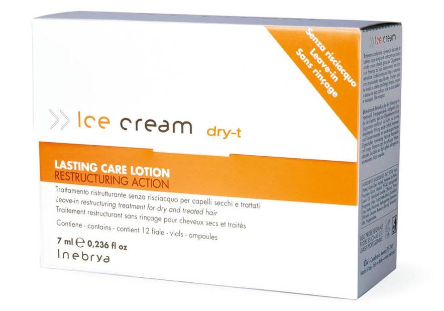Ošetřující sérum pro suché vlasy Inebrya Dry-T - 12 x 7 ml (776340) + DÁREK ZDARMA