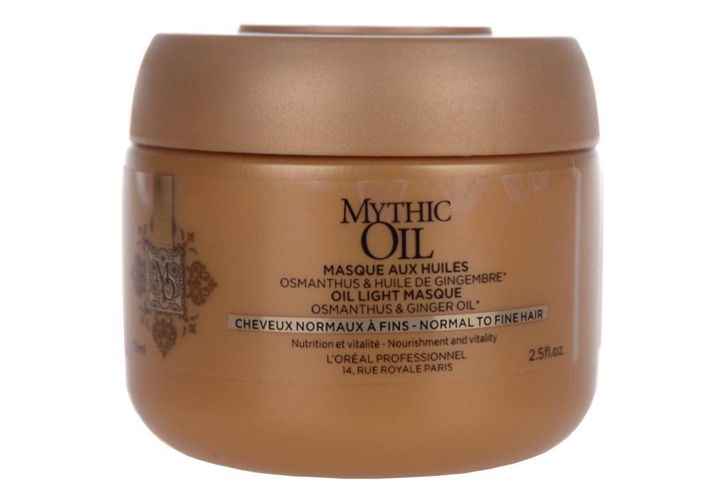 Maska pro normální až jemné vlasy Loréal Mythic Oil - 75 ml