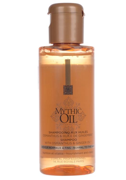Šampon pro normální až jemné vlasy Loréal Mythic Oil - 75 ml