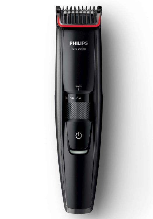 Zastřihovač vousů Philips Series 5000 BT5200/15 - černý + DÁREK ZDARMA