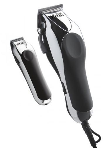 Strojek na vlasy a konturovací strojek Wahl Deluxe Chrome Pro 79524-2716 + DÁREK ZDARMA