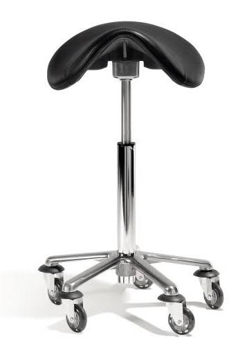 Taburet na kolečkách Saddle XL Original Best Buy - černý (0200403) + DÁREK ZDARMA