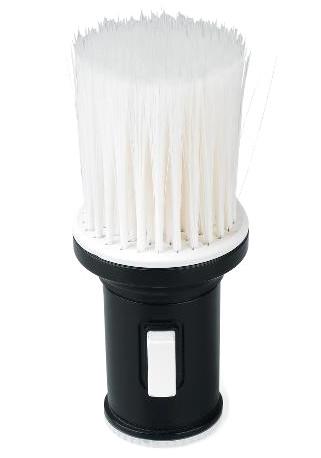 Oprašovací štětka pro aplikaci pudru po holení Sibel - černá/bílá (4471005)