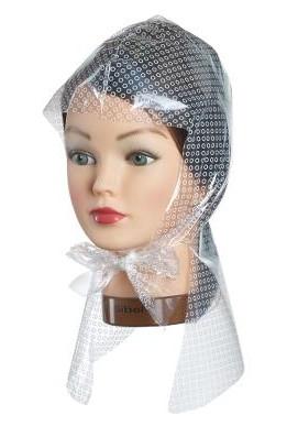 Melírovací čepice s ochranou krku Sibel - 50 ks + háček ZDARMA (5011051) + DÁREK ZDARMA