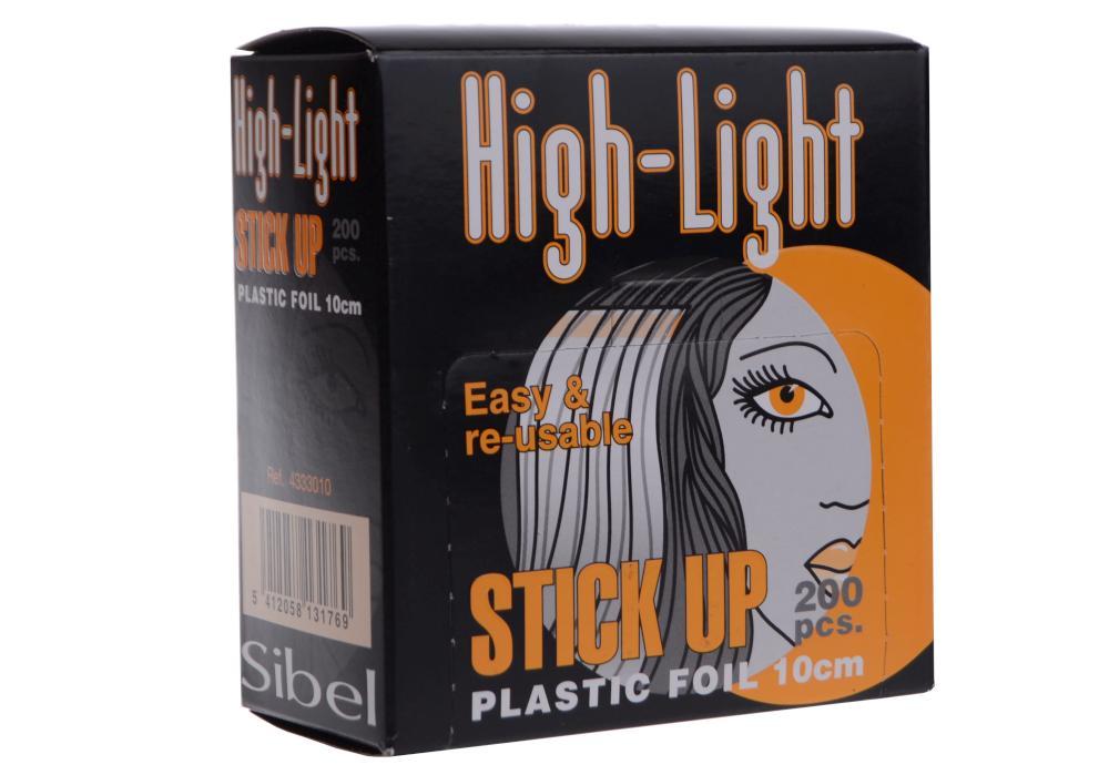 Fólie na melír Sibel High-Light Stick-up 10 x 9 cm - 200 ks (4333010) + DÁREK ZDARMA