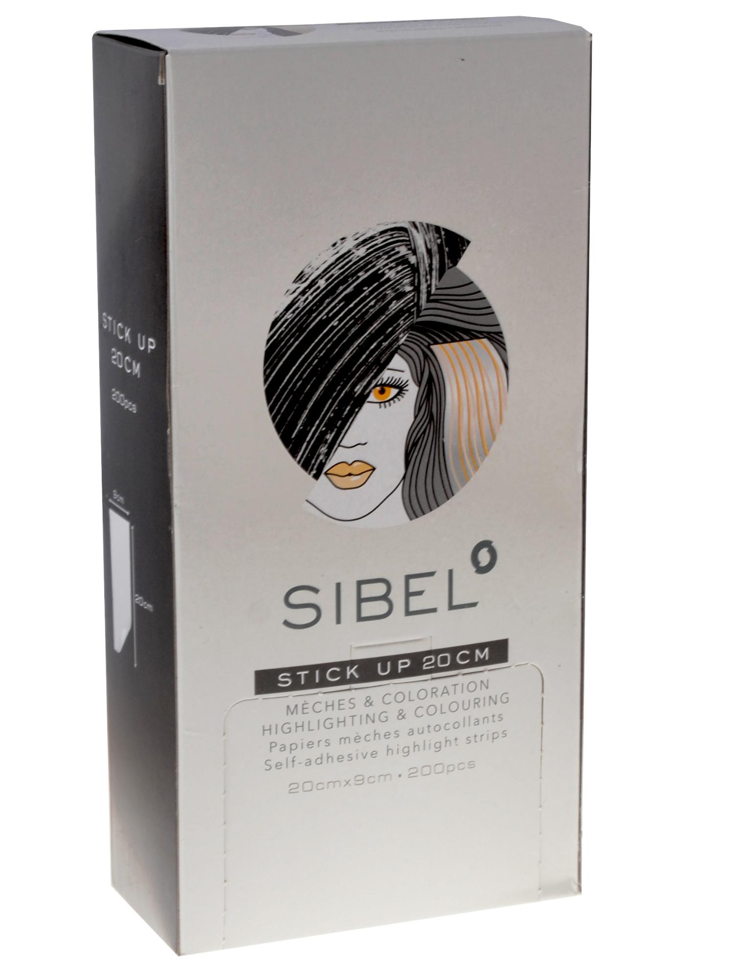 Fólie na melír Sibel High-Light Stick-up 20 x 9 cm - 200 ks (4333011) + DÁREK ZDARMA