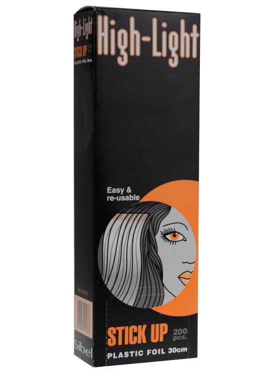 Fólie na melír Sibel High-Light Stick-up 30 x 9 cm - 200 ks (4333012) + DÁREK ZDARMA