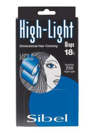 Papírky na melír Sibel High-Light 10 x 18 cm - 250 ks (4332031)