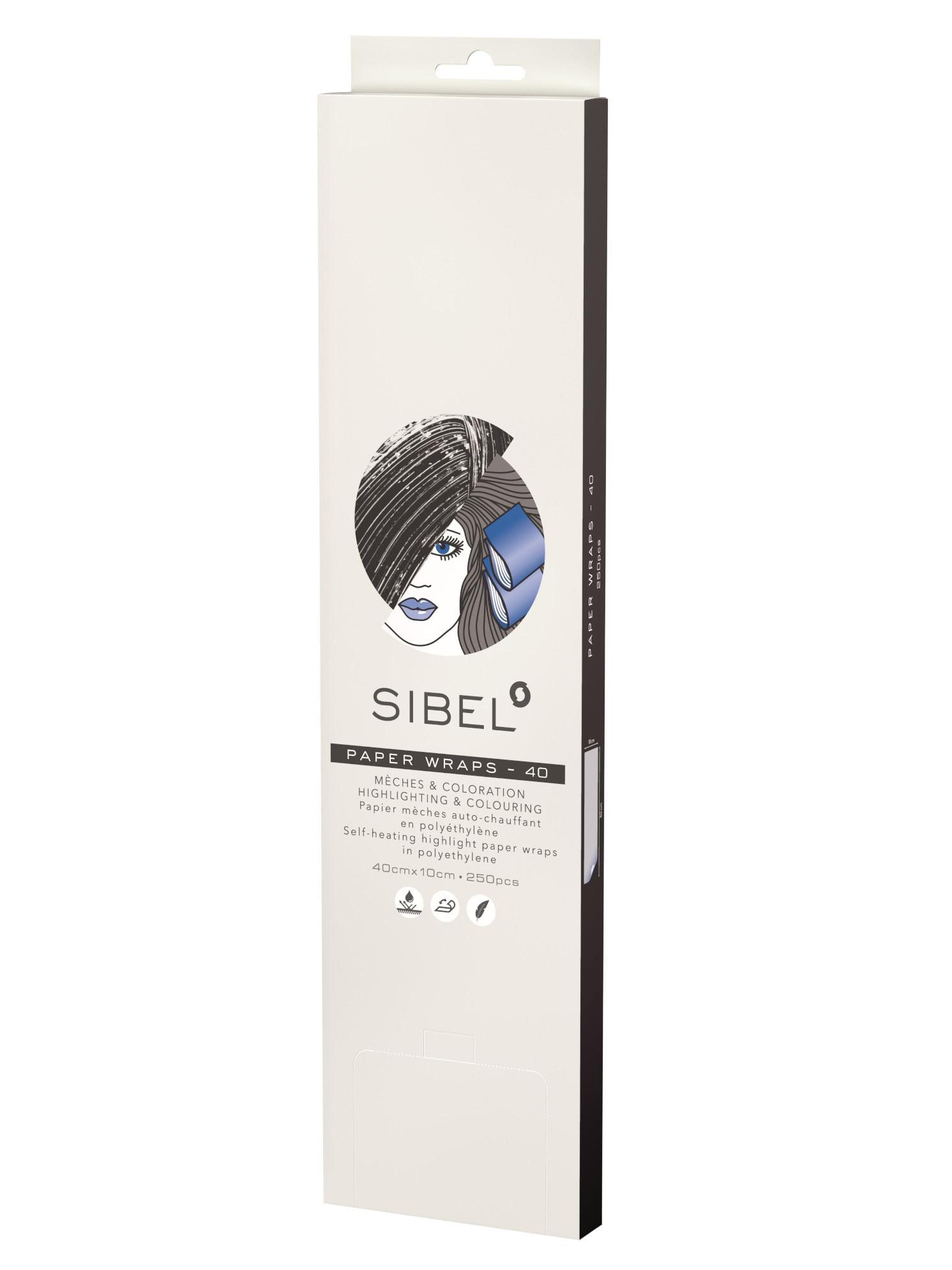 Papírky na melír Sibel High-Light 10 x 40 cm - 250 ks (4333041) + DÁREK ZDARMA