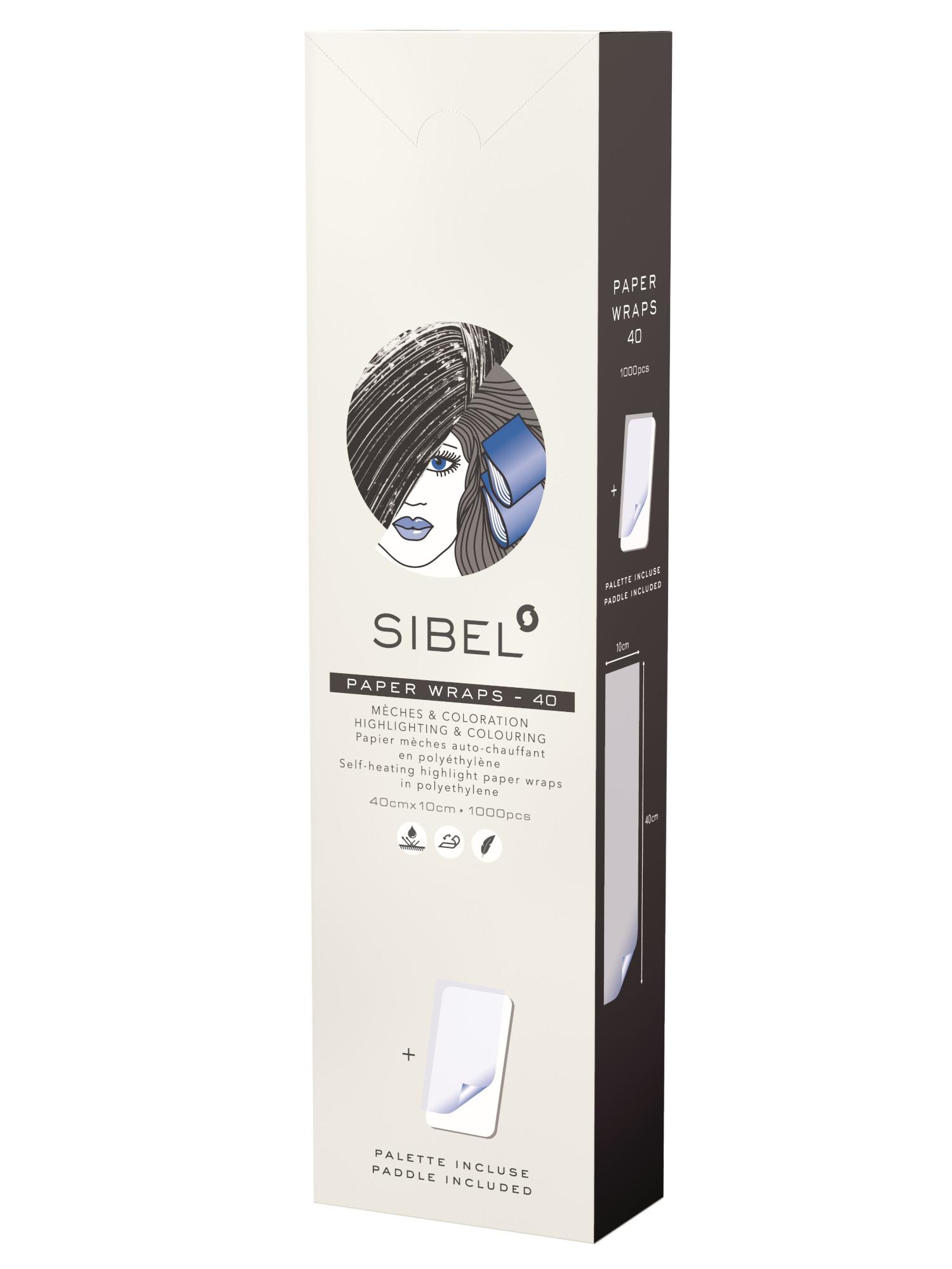 Papírky na melír Sibel High-Light 10 x 40 cm - 250 ks + podložka zdarma (4333141) + DÁREK ZDARMA