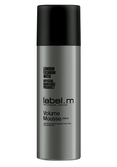 Pěna na jemné až středně silné vlasy Label.m Volume Mousse - 200 ml (600139)