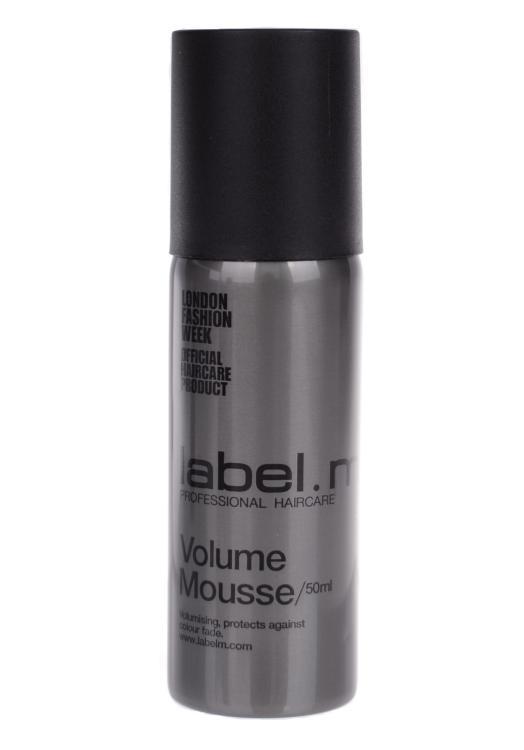 Pěna na jemné až středně silné vlasy Label.m Volume Mousse - 50 ml (600443)