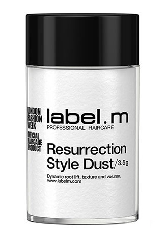 Jemný pudr pro objem Label.m Resurrection Style Dust - 3,5 g (600419) + DÁREK ZDARMA