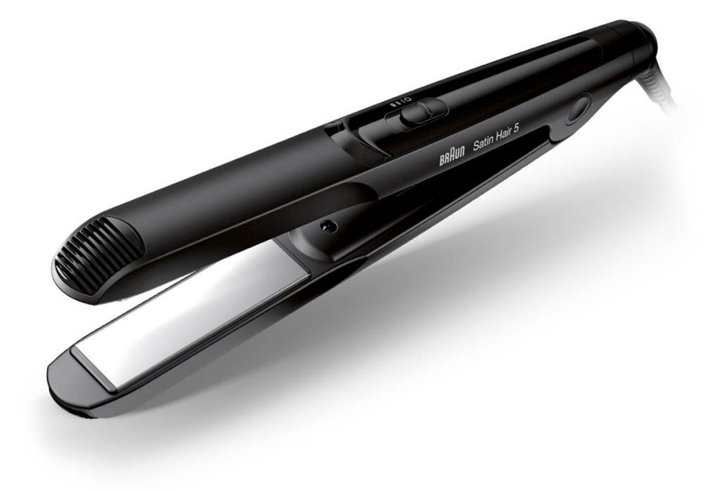 Žehlička na vlasy Braun Satin Hair 5 ST510 - černá (3566, ST510) + DÁREK ZDARMA