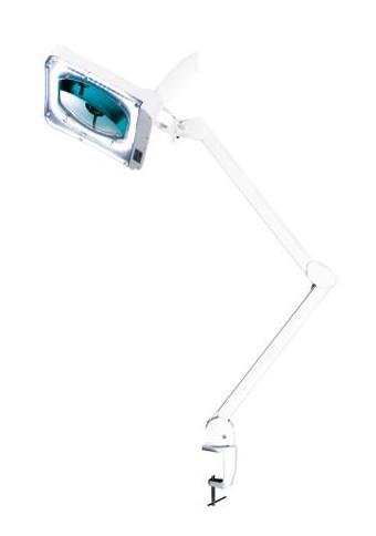 Kosmetická LED lampa s lupou na stůl - Sibel Square, 5 dioptrií (7332009) + DÁREK ZDARMA