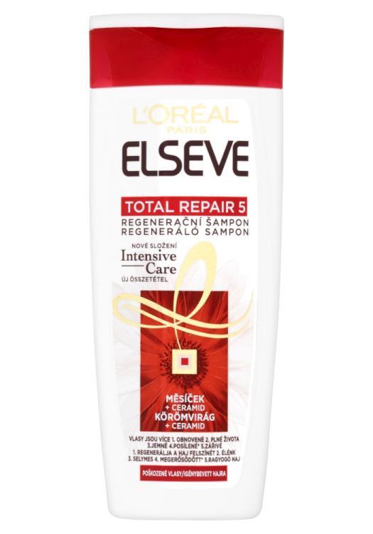 Šampon pro poškozené vlasy Loréal Elseve Total Repair 5 - 250 ml