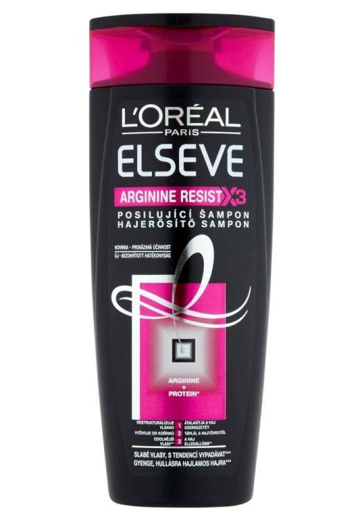 Šampon pro slabé vlasy Loréal Elseve Arginine Resist X3 - 250 ml