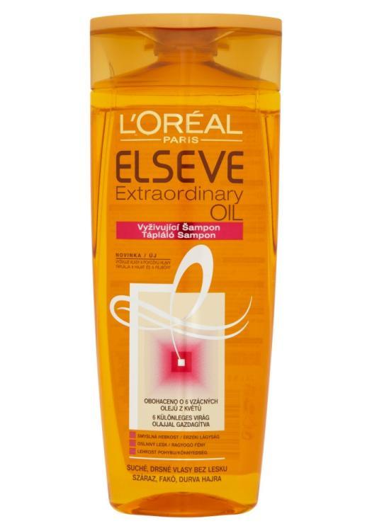 Šampon pro suché vlasy Loréal Elseve Extraordinary Oil - 250 ml