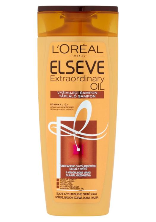 Šampon pro velmi suché vlasy Loréal Elseve Extraordinary Oil - 250 ml