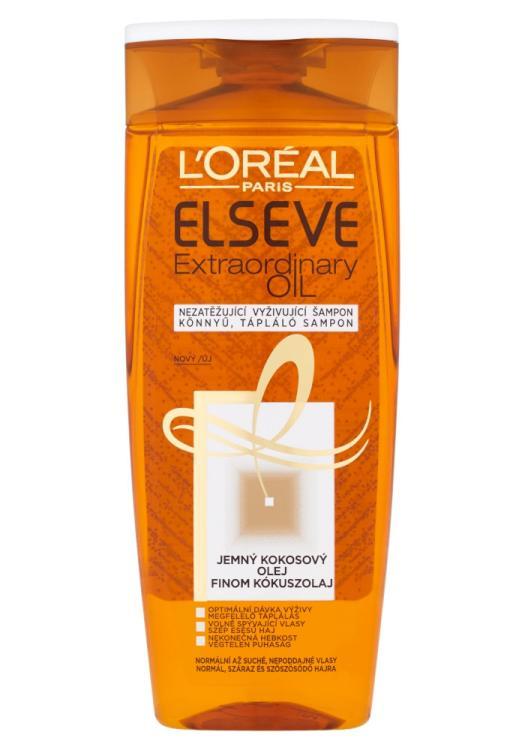 Šampon pro normální až suché vlasy Loréal Elseve Extraordinary Oil - 250 ml