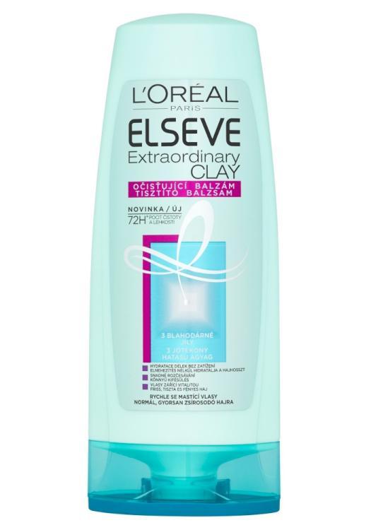 Péče pro rychle se mastící vlasy Loréal Elseve Extraordinary Clay - 200 ml