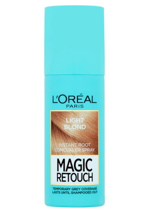 Sprej pro zakrytí odrostů Loréal Paris Magic Retouch - 75 ml, světlá blond