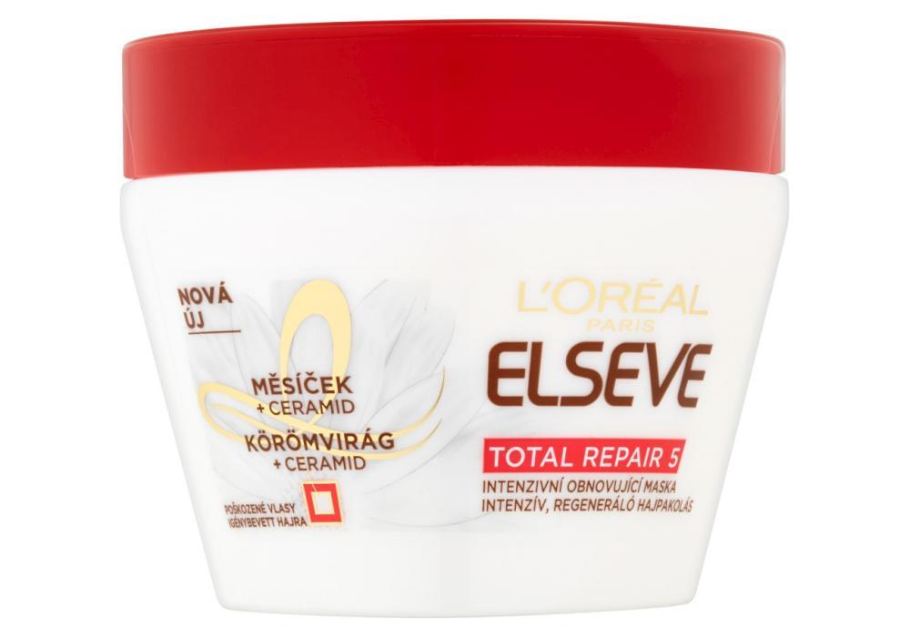 Maska pro poškozené vlasy Loréal Elseve Total Repair 5 - 300 ml + DÁREK ZDARMA
