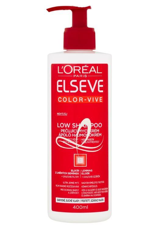 Mycí krém pro barvené vlasy Loréal Elseve Color-Vive - 400 ml