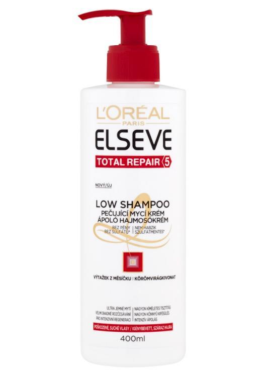 Mycí krém pro proškozené vlasy Loréal Elseve Total Repair 5 - 400 ml