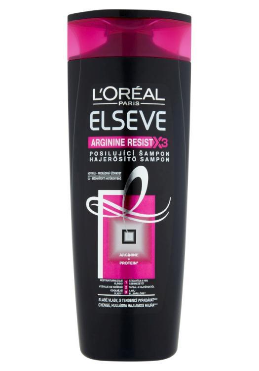 Šampon pro slabé vlasy Loréal Elseve Arginine Resist X3 - 400 ml