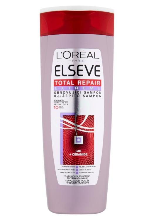 Šampon pro velmi poškozené vlasy Loréal Elseve Total Repair Extreme - 400 ml