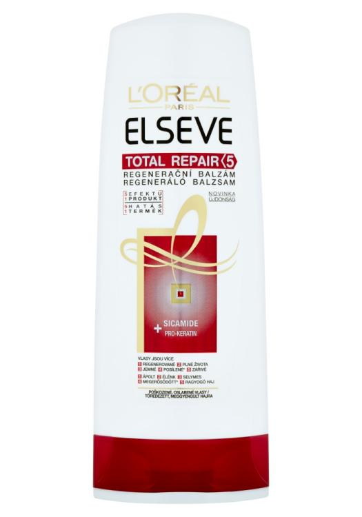 Péče pro poškozené vlasy Loréal Elseve Total Repair 5 - 400 ml