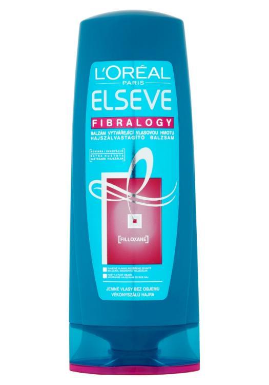 Péče pro jemné vlasy bez objemu Loréal Elseve Fibralogy - 400 ml