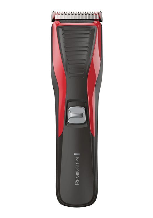 Zastřihovač vlasů Remington My Groom HC5100 - černý/červený + DÁREK ZDARMA