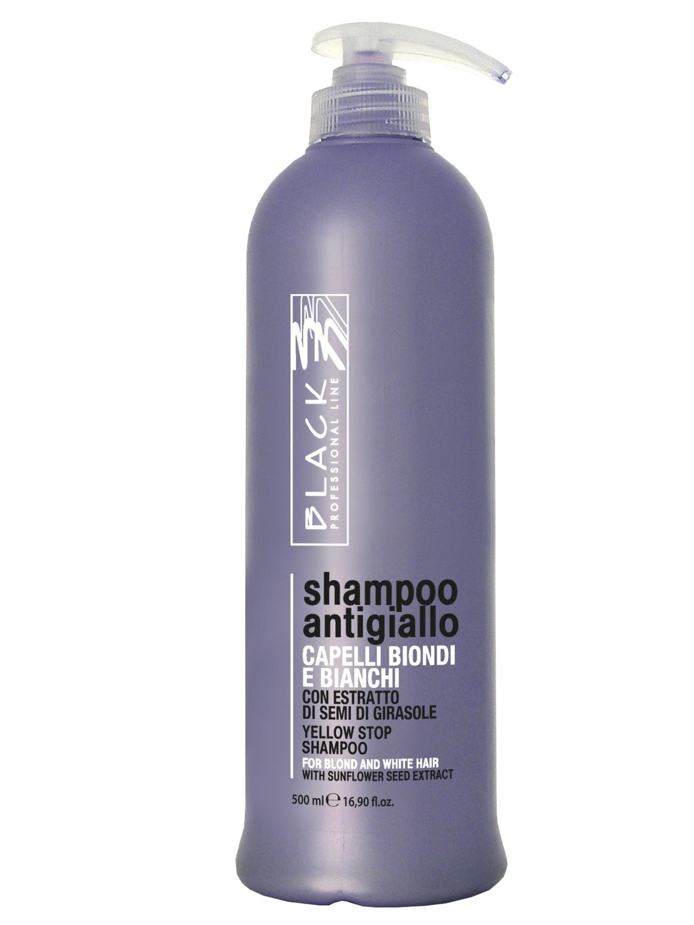 Šampon pro blond a melírované vlasy Black Yellow Stop - 500 ml (01097)