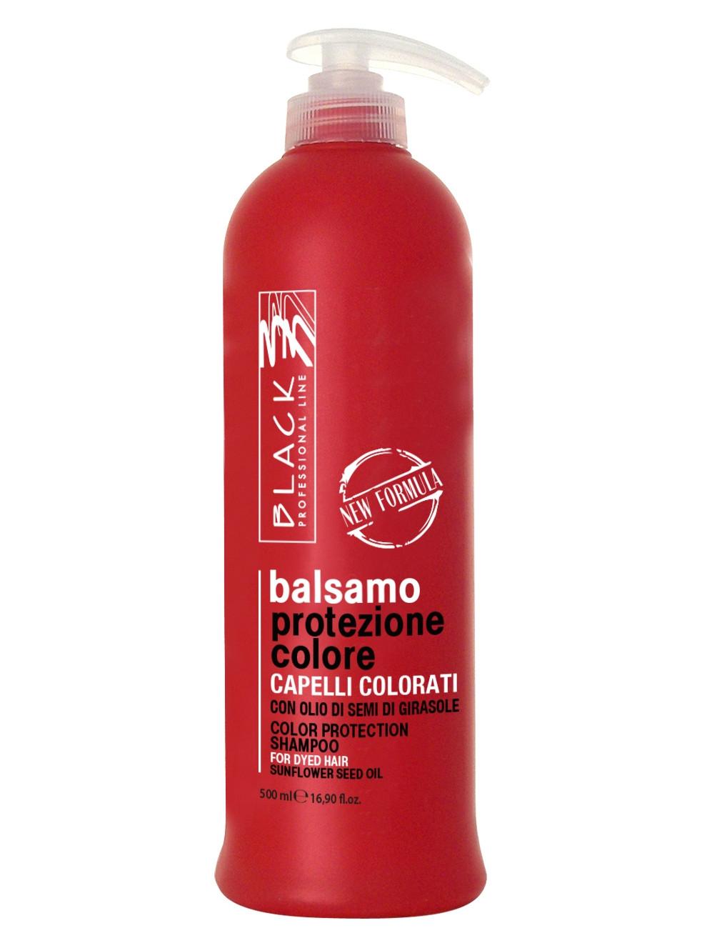 Péče pro barvené vlasy Black Color Protection - 500 ml (01249)