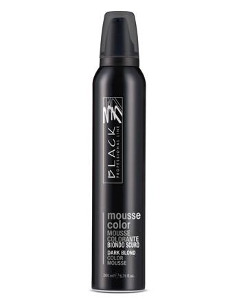 Barevné pěnové tužidlo Black Mousse Color - 200 ml, tmavá blond (03208)