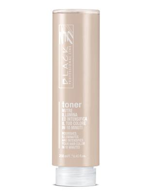 Ošetřující toner pro zvýraznění barvy Black Toner - béžová, 250 ml (01208) + DÁREK ZDARMA