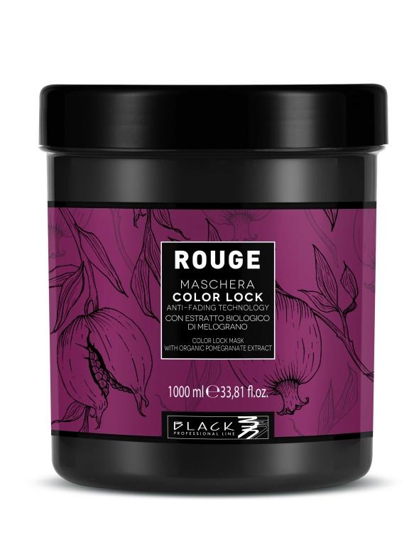 Maska pro barvené vlasy Black Rouge Color Lock - 1000 ml (102012) + DÁREK ZDARMA