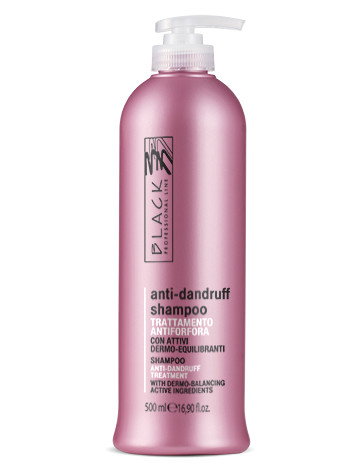 Šampon proti lupům Black Anti-dandruff - 500 ml (01242)
